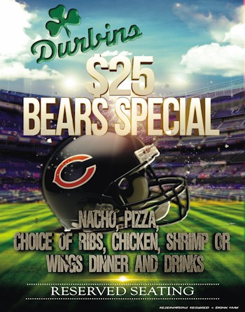 Bears Special $25