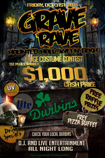 Huge Costume Contest Friday, Oct 31st